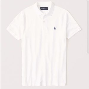 ABERCROMBIE & FITCH - Classic Icon Stretch Polo